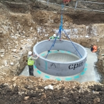 4. First Concrete Ring to Pumping Station