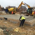 40. Pouring Concrete to Oversite