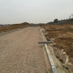 44. Roads Being Formed Ready For Basecourse Tarmac