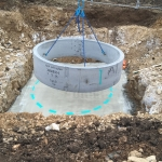 5. First Concrete Ring to Pumping Station