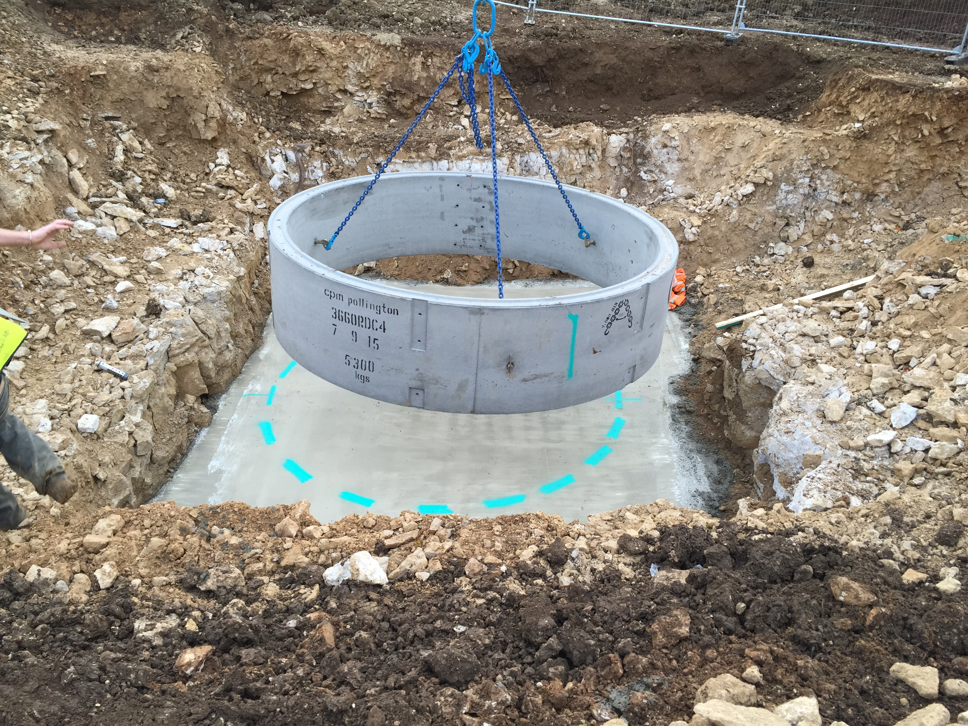 Concrete Pumping Station : Nri civils ltd taylor wimpey exeter fields stamford