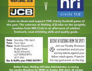 JCB vs NRI Civils Charity Shield