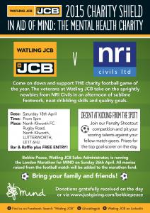 JCB vs NRI Civils Charity Shield