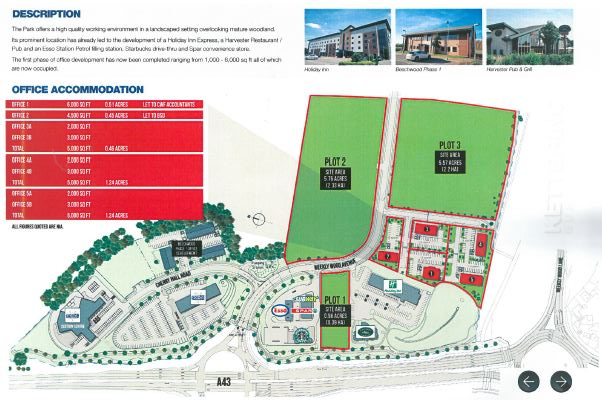 Kettering North Business Park Development