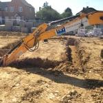 014 Grave Digging Footings