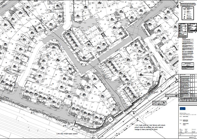 Morris Homes - Site Plan