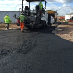 4. Road Being Tarmaced