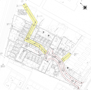 Site Layout, Morris Homes