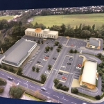 Artist Impression, Letchworth development